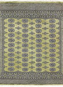 Olive Bokhara 6' 3 x 6' 5 - No. 60862