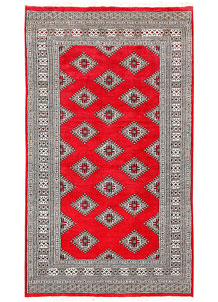 Red Jaldar 3' 11 x 7' - No. 61002