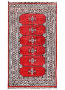 Red Jaldar 4' x 7' 1 - No. 61004