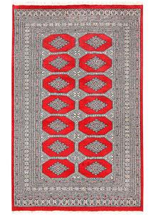 Red Jaldar 4' 2 x 6' 5 - No. 61005