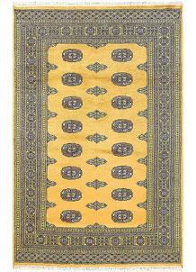 Gold Bokhara 4' 2 x 6' 3 - No. 61040