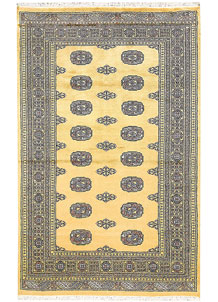 Pale Goldenrod Bokhara 4' x 6' 4 - No. 61043