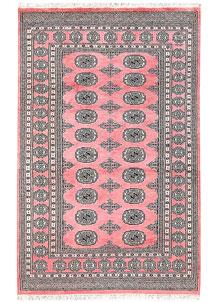 Pink Bokhara 4' 1 x 6' 4 - No. 61077