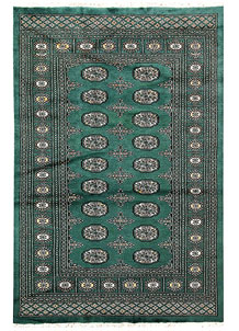 Sea Green Bokhara 4' x 6' 1 - No. 61083
