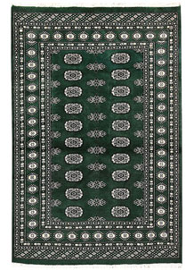 Darkgreen Bokhara 4' x 6' - No. 61084