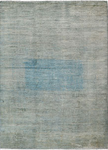 Cadet Blue Gabbeh 8' 10 x 11' 11 - No. 61160
