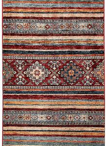 Multi Colored Kazak 2' 1 x 6' 6 - No. 61277