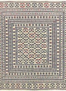 Old Lace Soumak 6' 7 x 8' 5 - No. 61861