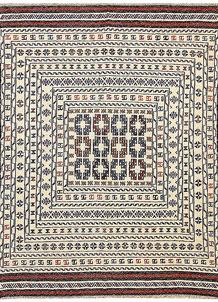 Old Lace Soumak 4' 3 x 5' 6 - No. 61935