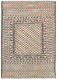Old Lace Soumak 4' 1 x 5' 9 - No. 61940
