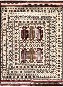 Old Lace Soumak 4' 3 x 5' 8 - No. 61942