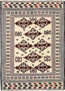 Old Lace Soumak 3' 11 x 5' 6 - No. 61946