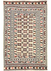 Old Lace Soumak 4' x 6' 2 - No. 61948