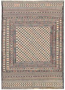 Old Lace Soumak 4' 2 x 5' 10 - No. 61949