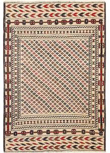 Old Lace Soumak 4' 2 x 6' - No. 61956