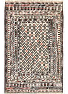 Old Lace Soumak 3' 11 x 6' 1 - No. 61958