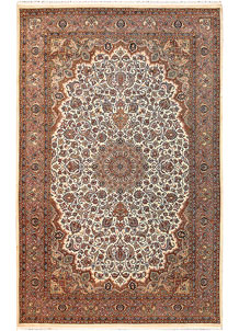 Cornsilk Isfahan 4' 8 x 7' 3 - No. 61966