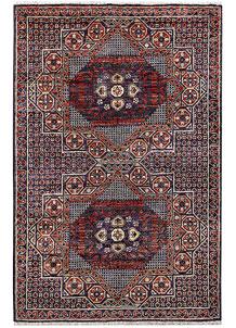 Purple Mamluk 3' 4 x 5' 1 - No. 62054