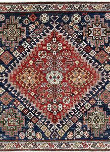 Multi Colored Oushak 5' x 4' 11 - No. 62154
