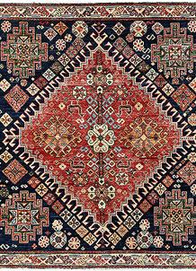 Multi Colored Oushak 5' 1 x 5' - No. 62158