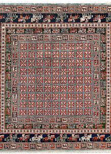 Multi Colored Ziegler 8' x 8' - No. 62191
