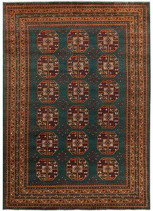 Teal Baluchi 6' 8 x 9' 6 - No. 62350