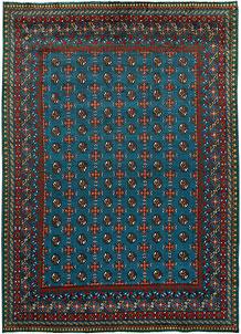 Teal Baluchi 6' 9 x 9' 6 - No. 62356