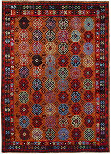 Multi Colored Baluchi 5' 9 x 7' 10 - No. 62379
