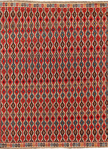 Multi Colored Baluchi 5' 9 x 6' 10 - No. 62380