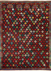 Multi Colored Baluchi 5' 10 x 7' 9 - No. 62383