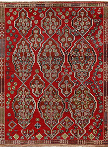 Multi Colored Baluchi 5' 9 x 7' 4 - No. 62388
