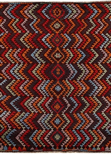 Multi Colored Baluchi 6' 1 x 7' 8 - No. 62389