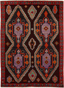 Multi Colored Baluchi 5' 9 x 7' 10 - No. 62390