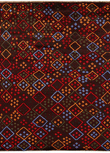 Multi Colored Baluchi 5' 11 x 7' 5 - No. 62391