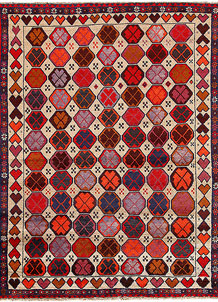 Multi Colored Baluchi 6' x 7' 8 - No. 62394