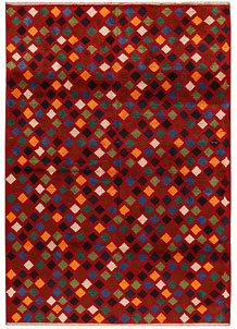 Multi Colored Baluchi 6' 10 x 9' 9 - No. 62395