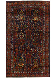 Multi Colored Baluchi 5' 10 x 10' 2 - No. 62399