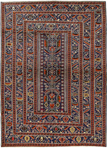 Multi Colored Baluchi 6' 11 x 9' 7 - No. 62402