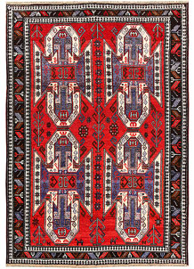 Multi Colored Baluchi 6' 6 x 9' 5 - No. 62403