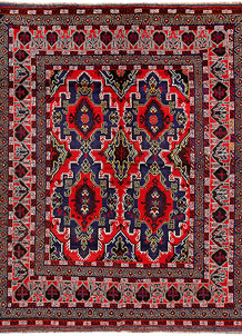 Multi Colored Baluchi 7' 5 x 9' 2 - No. 62406