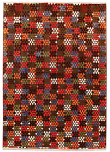 Multi Colored Baluchi 6' 8 x 9' 4 - No. 62410
