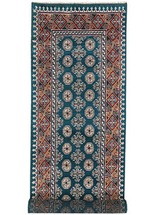 Multi Colored Baluchi 2' 8 x 7' 11 - No. 62417