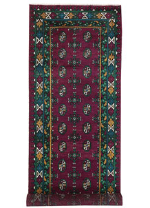 Multi Colored Baluchi 2' 9 x 7' 11 - No. 62418