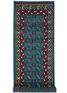 Multi Colored Baluchi 2' 9 x 9' 5 - No. 62419