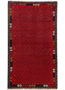 Multi Colored Baluchi 3' 7 x 6' 2 - No. 62442