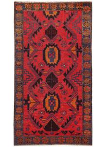 Firebrick Baluchi 3' 5 x 6' 3 - No. 62490