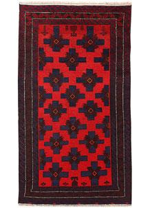 Firebrick Baluchi 3' 5 x 6' - No. 62495