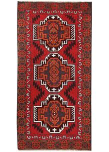 Firebrick Baluchi 3' 5 x 6' 9 - No. 62516