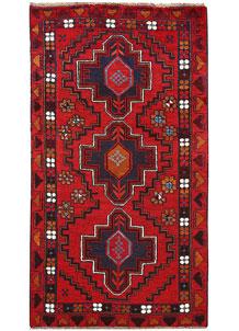 Firebrick Baluchi 3' 6 x 6' 6 - No. 62521
