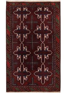 Firebrick Baluchi 3' 10 x 6' 5 - No. 62794